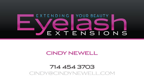 Eyelash Extensions by Cindy Newell